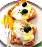Яйца с ветчиной Украинская кухня