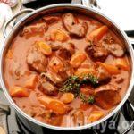 Яйни (суп из говядины с курагой) Армянская кухня