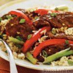 Ямбалайя – блюдо с рисом и куриным мясом Вторые блюда