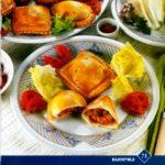 Ютаза (изделие из кислого теста, отваренное на пару) Киргизская кухня