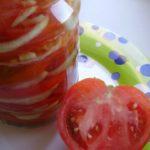 Закуска из помидоров в желе Закуски Из овощей Помидоры