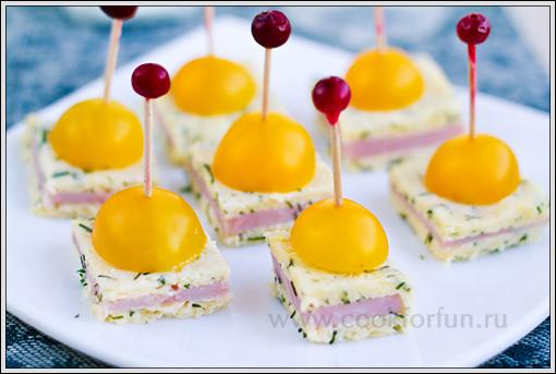 Закуски с сыром
