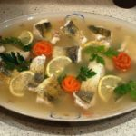 Заливное из морской рыбы Английская кухня