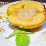 Запеченная айва с медом Десерты Фруктовые десерты