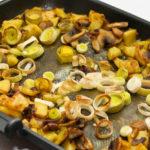 Запеченная камбала с грибами Блюда из рыбы Вторые блюда