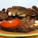 Запеченные в фольге бараньи ребрышки Блюда из мяса Вторые блюда