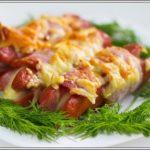 Жареные сосиски с сыром Мясные блюда Турецкая кухня