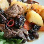 Жаркое из баранины с черносливом Вторые блюда