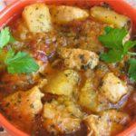 Жаркое из курицы Мясные блюда Турецкая кухня