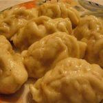 Женмомо (шарики из теста) Киргизская кухня