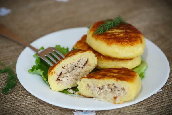 Зразы картофельные Белорусская кухня