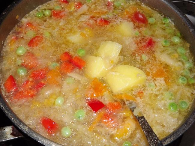 Щи с кислой капустой Супы