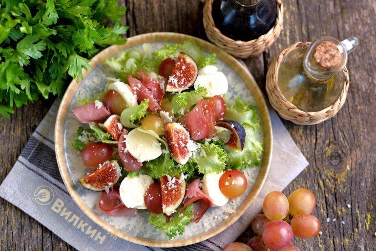 Салат из винограда к шампанскому Салаты