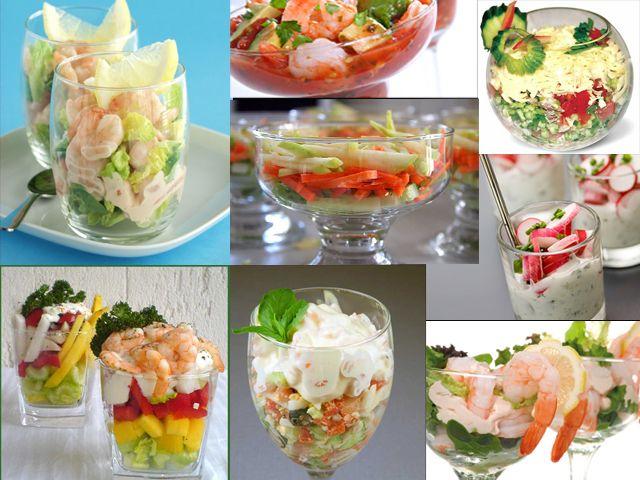 Салаты-коктейли закусочные