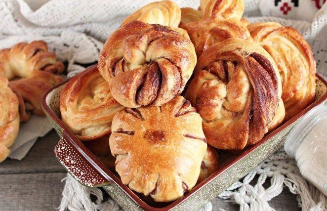 Пилита (сладкое изделие из теста) Таджикская кухня