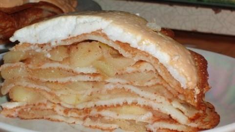 Яблочный соложеник Украинская кухня