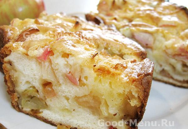Бисквит «Яблочный»
