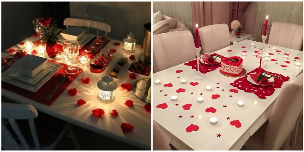 Как устроить романтический ужин