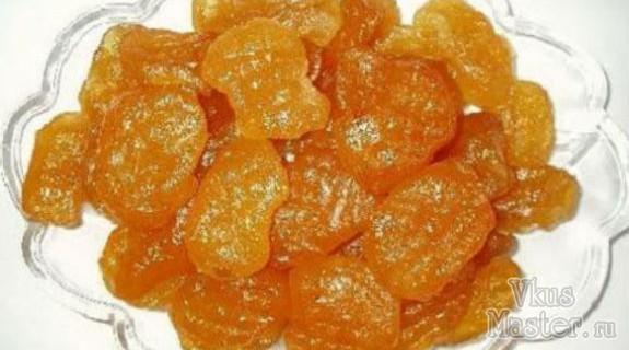 Абрикосовые цукаты