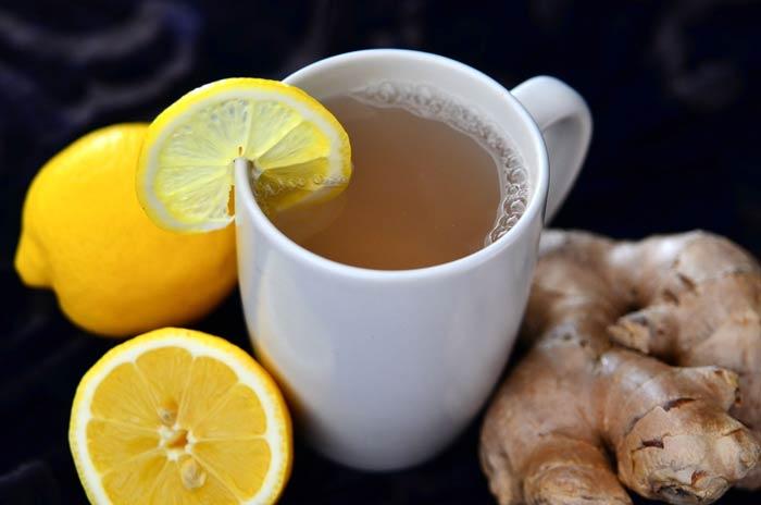 Бобы с имбирем и лимоном