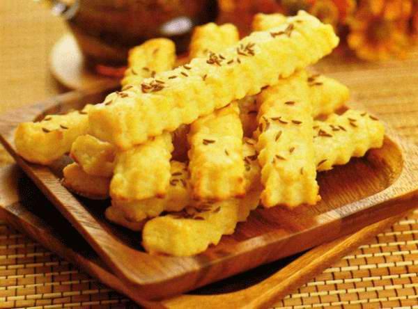 Болгарское соленое печенье