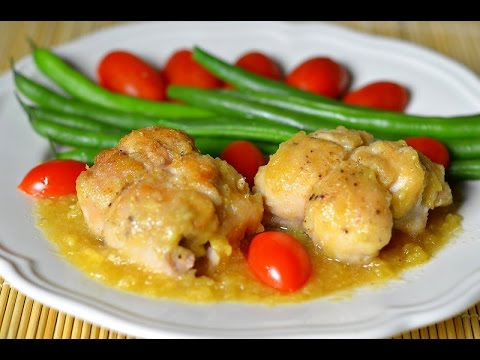 Цыплята в ананасном соке
