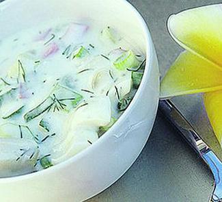 Дограмач (окрошка овощная)