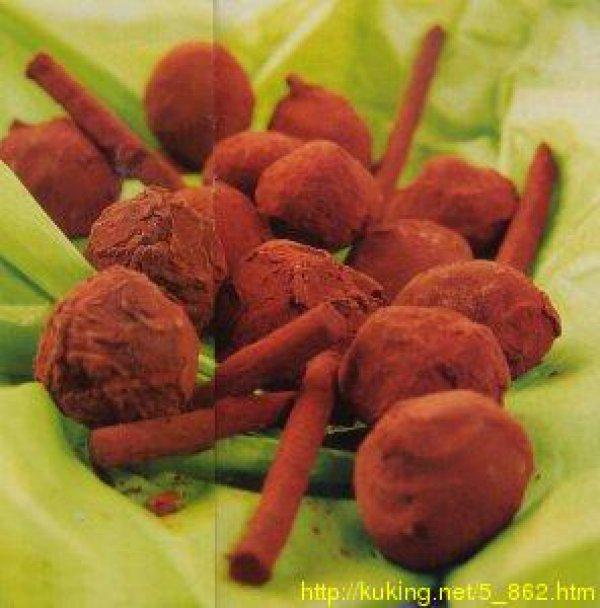 Горькие шоколадные трюфели с диким медом