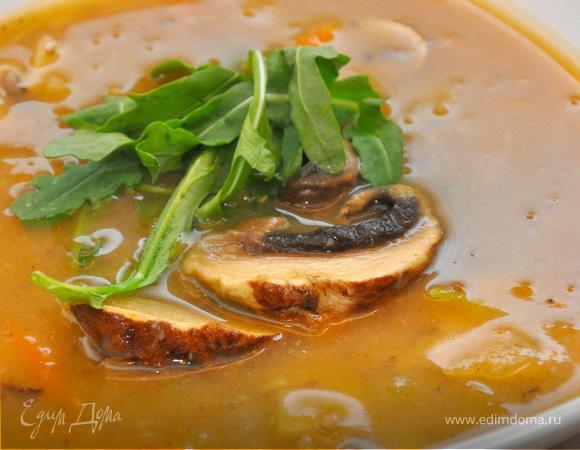 Грибной суп по-итальянски