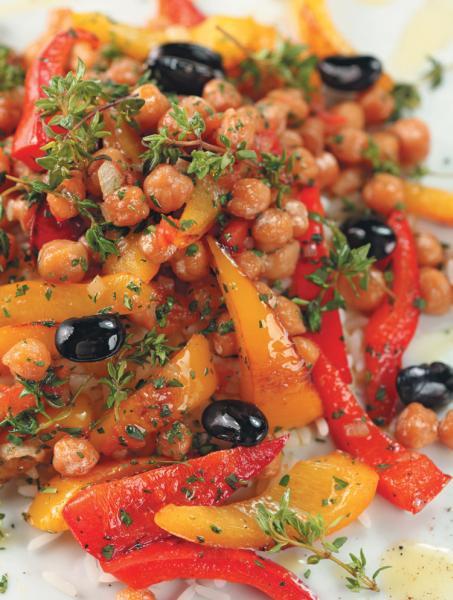 Гуммус (турецкий горох и паста из семян кунжута)