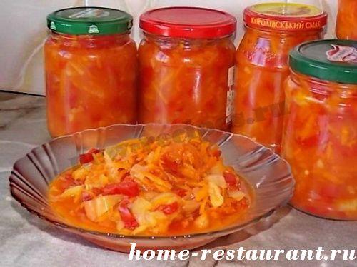 Икра из перца с морковью