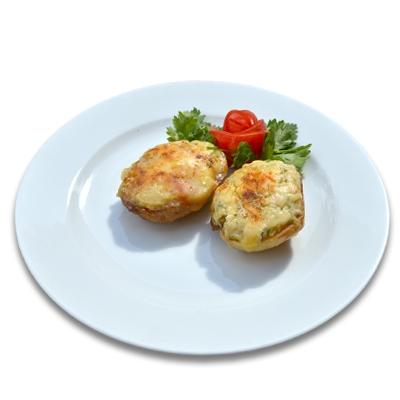 Картофель с голландским сыром