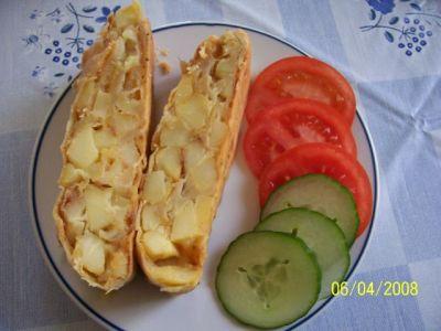 Картофельный штрудель
