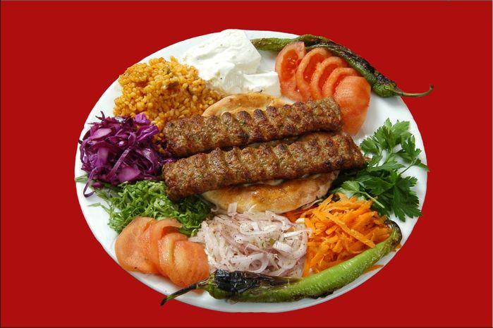 Кебаб из меч-рыбы по-турецки