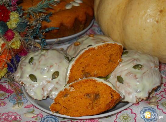 Кексы с изюмом и апельсином