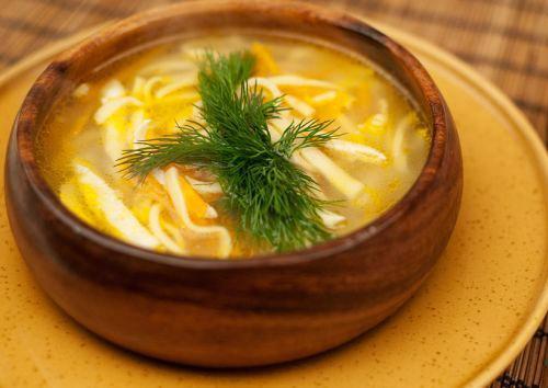 Кеспе с мясом (суп)