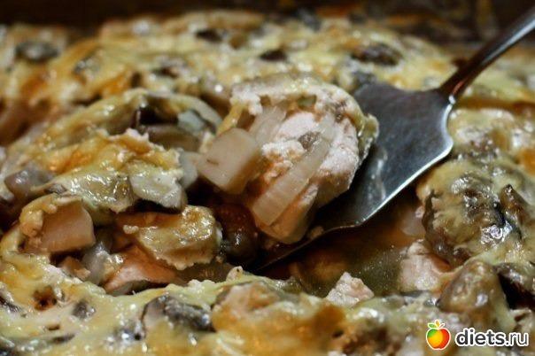 Куриные грудки по-гречески, в йогурте с сыром