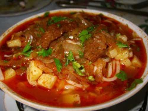 Лагман (густой суп)