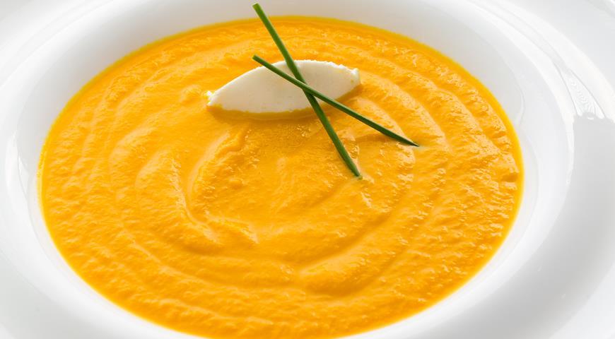 Морковный суп с медом