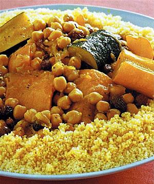 Мясо и овощи к кускусу (Марокко)