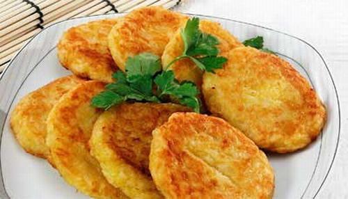 Оладьи картофельные