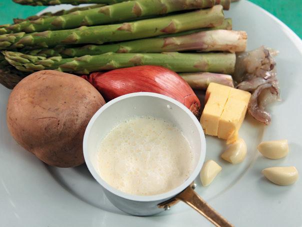 Отварной картофель с кацуобуси