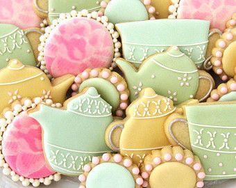 Печенье с сахарной глазурью
