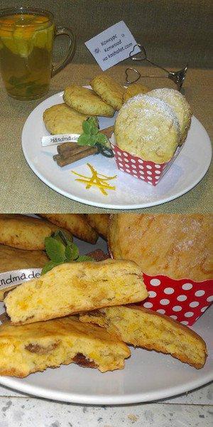 Печенье с тыквой и изюмом