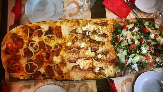 Пицца «Дубровник» (из югославской кухни)