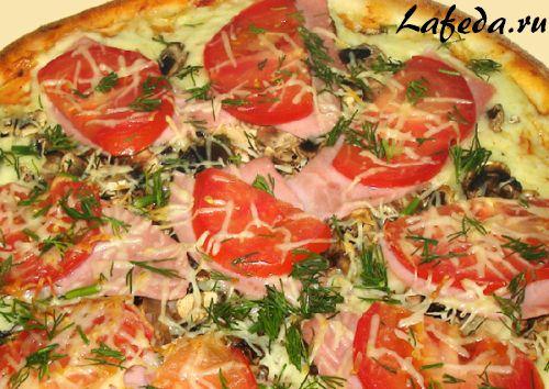 Пицца по-матросски