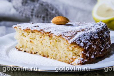 Пирог «Миндальный»