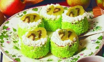 Пирожное «Киви»