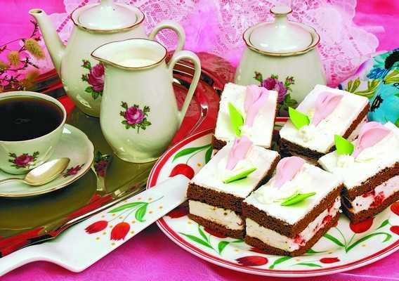 Пирожное «Сладкая ягодка»