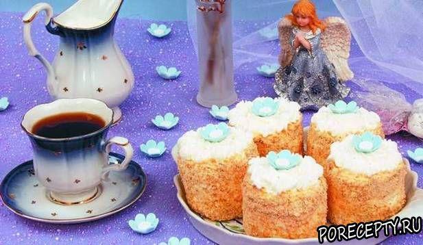 Пирожное «Вася—василек»